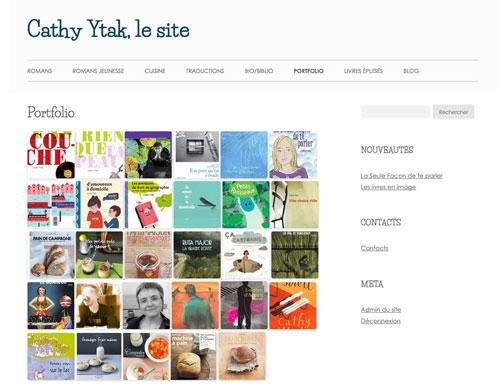 Le site de Cathy Ytak